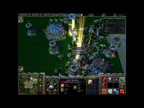 Warcraft 3, Footman lvl 1000000