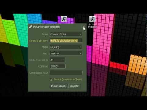 Como Crear Un Server De Counter Strike 1.6 No steam 2013