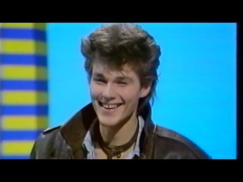 A-ha - Morten Harket Interview - Blue Peter 1986