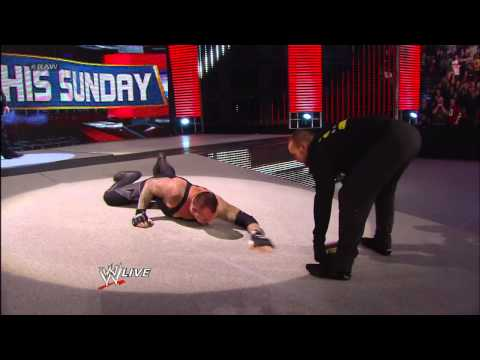 Disguised as a druid, CM Punk attacks The Undertaker: Raw, April 1, 2013