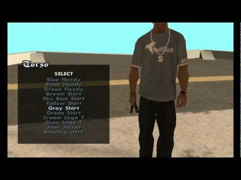 GTA San Andreas - Cleo Mod: Clothes Changing Mod (With Download Link)
