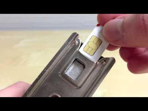 How to make your own giffgaff Nano SIM