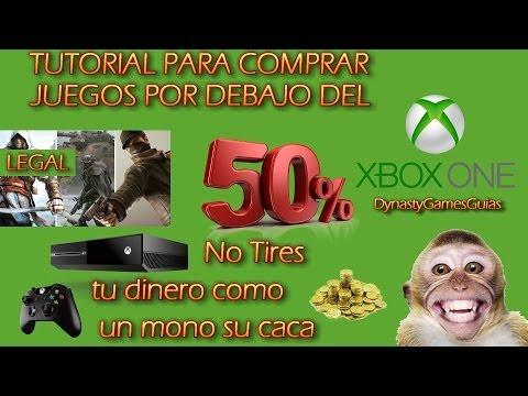 Tutorial para comprar juegos con un amigo por debajo del 50% de su precio en Xbox One Legal