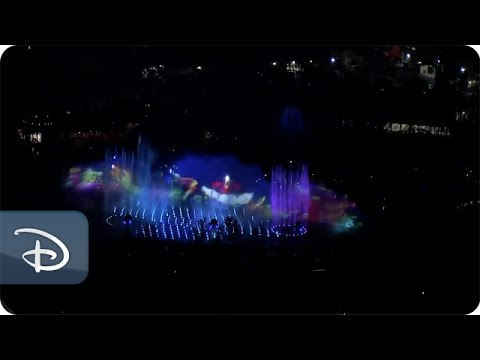 """World of Color"" -- Aerial View"