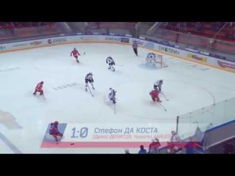 ЦСКА - Сочи. Все шайбы матча