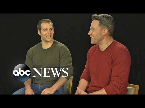 Ben Affleck and Henry Cavill on the Making of 'Batman v Superman'