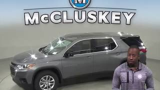 192554 New 2019 Chevrolet Traverse Gray SUV Test Drive, Review, For Sale -
