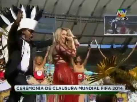 Shakira - La La La (Closing Ceremony 2014 FIFA World Cup Brazil...