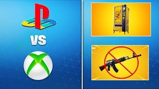 *NEW* Fortnite Update 8.10 Changes! - Xbox & PS4 Lobbies Merge, Vending Machine, Gold AK, & MORE!