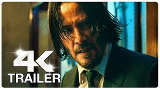 JOHN WICK 3 : 5 Minute Trailers (4K ULTRA HD) NEW 2019