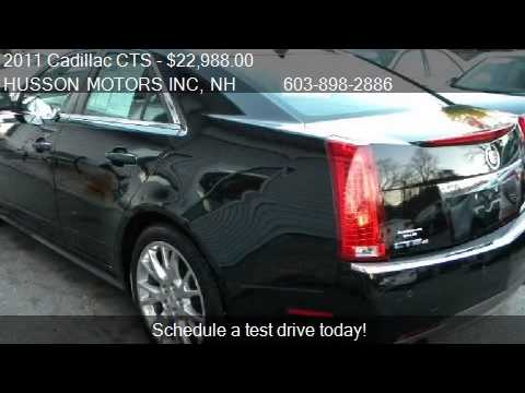 2011 cadillac cts 3 6l premium awd 4dr sedan for sale in