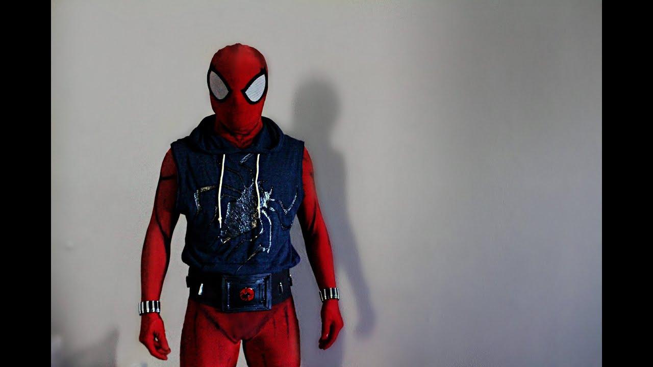 Scarlet Spider Man Kaine Scarlet Spider/spider-man Suit