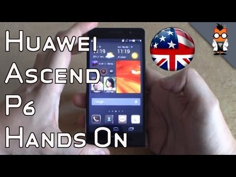 Huawei Ascend P6 Hands On - Thinnest Smartphone in the World