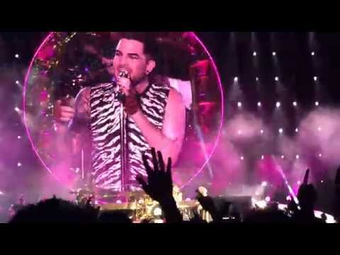 Queen + Adam Lambert - I Was Born to Love You (@Summer Sonic 2014)