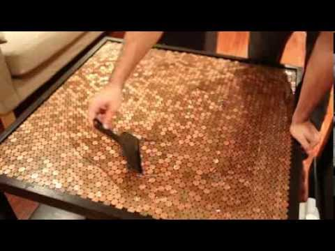 Penny Table Top Project Youtube