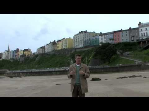 Take a brief look into the town of Tenby in Wales, Britain