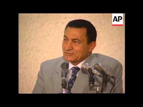 Egypt - Rabin & Mubarak Meet In Taba for Talks