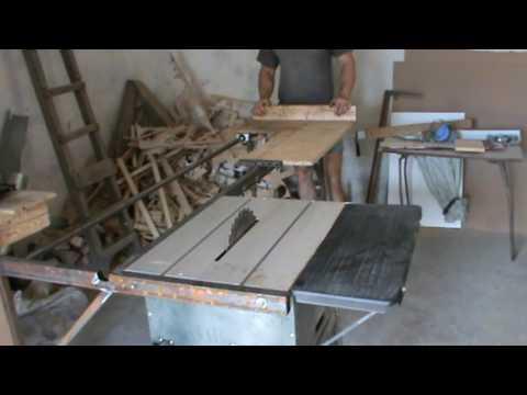 Форматно-раскроечный станок из болгарки своими руками 36