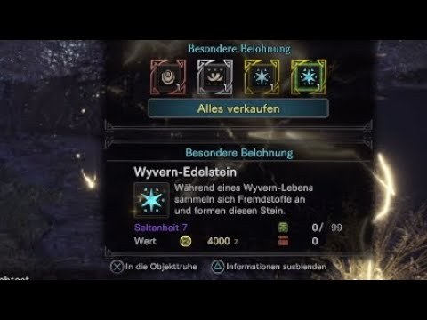 Monster Hunter: World - Wyvern-Edelstein einfach gefarmt