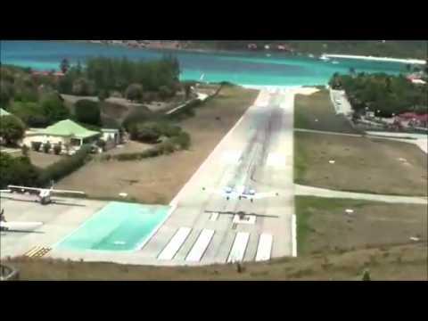 Amazing Airplane Landings The Scariest Airplane Landings