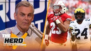 Colin Cowherd picks Week 5 college football in the Marquee 3 | CFB | THE HERD