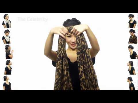 25 formas de usar una bufanda!