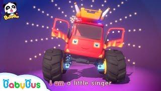 Monster Car Singing Contest | Baby Panda Car Patrol | Christmas Party | BabyBus