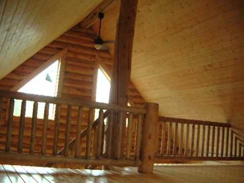 24 X 28 Log Cabin Construction Video Series Sterling