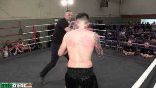 Kevin O'Toole vs Aaron Clarke - Extreme Fight Night