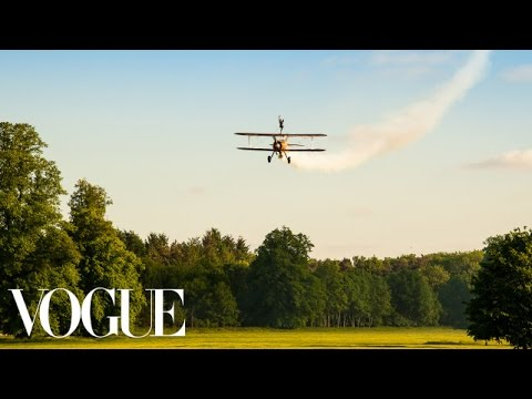Elderflower Cocktails, a Wedding Reception and an Air Show - Vogue Weddings - Vogue