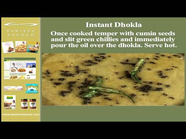 sddefault Instant Dhokla | Sanjeev Kapoor