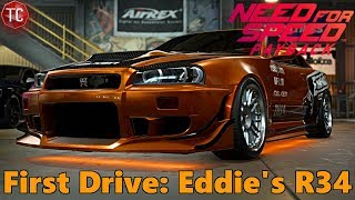 Need For Speed Payback: EDDIE'S SKYLINE R34 GT-R! First Drive, Gameplay!