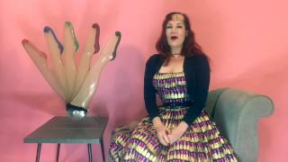 An Intro to Contrast Seamed Stockings
