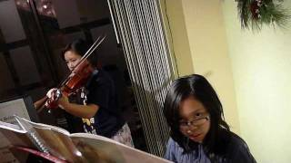 Canon in D Piano and Violin Duet
