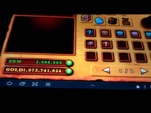 Zenonia 4 1.0.7 - Android - Hacks and Cheats - Full Game Hack - Gold. Stat and Skill Points
