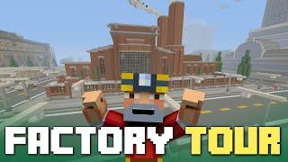 Minecraft Xbox One: Bedrock Tires Factory Tour!