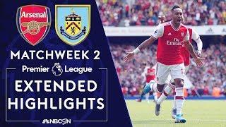 Arsenal v. Burnley PREMIER LEAGUE HIGHLIGHTS 81719 NBC Sports