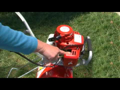 Mantis® Deluxe 2-Cycle Tiller -  Fueling and Starting