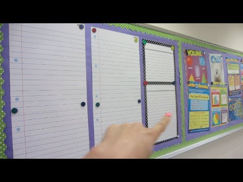 Classroom Organization Ideas For Teachers: Helping Ashley Organize The Classroom! video
