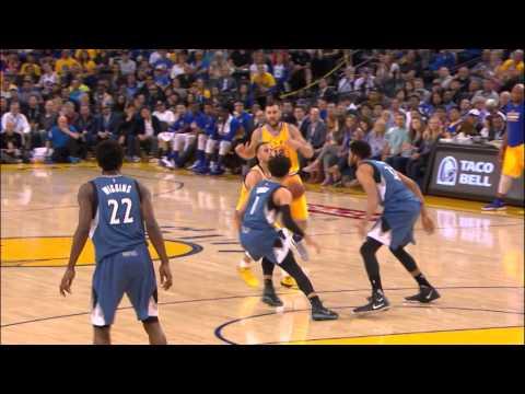 Timberwolves Take Down the Warriors