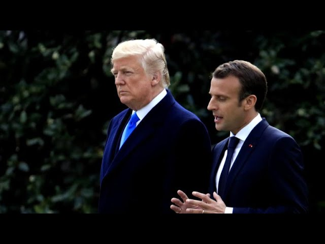 Trump and Macron to tussle over trade, Iran nuclear deal