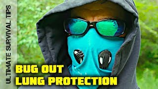 WHAT is this?? SURVIVAL  / BUG OUT / Zombie VIRUS - OUTBREAK - Lung Protection You Need