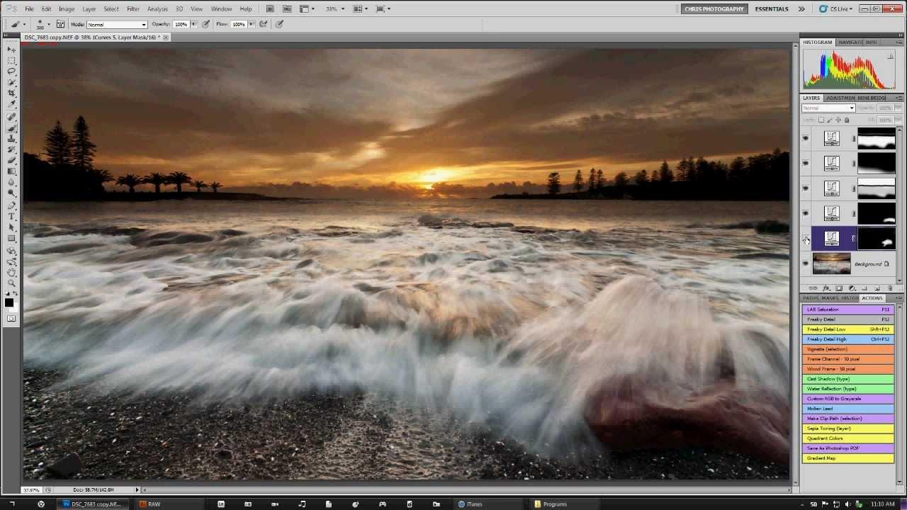 Landscape Photoshop Photoshop Raw Landscape Image