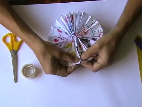 Manualidades - Abanico (facil)