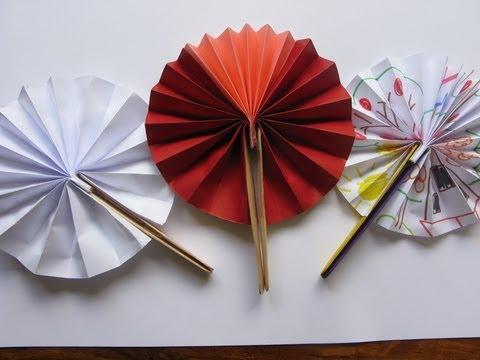 Manualidades - Abanico (fácil) - Manualidades para todos
