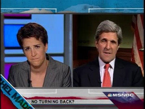 No turning back ? Rachel Maddow John Kerry
