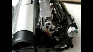 Repair Sony Handycam Error code C:32:11 Mini DV HDV temporally