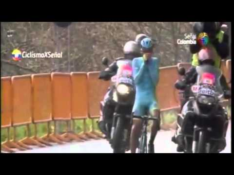 Vuelta al Pais Vasco 2016. 5 etapa: ÚLTIMOS KILOMETROS