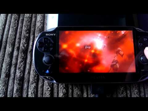WWE2K14 PS3 using ps vita remote play