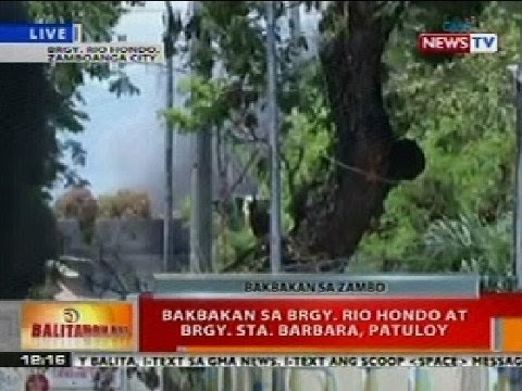 Bt: Bakbakan Sa Brgy. Rio Hondo At Brgy. Sta. Barbara, Zamboanga, Patuloy video